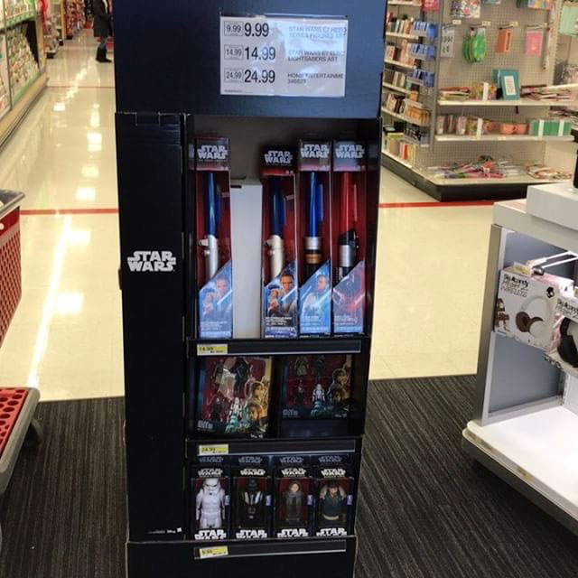 Target Star Wars Aisle Display