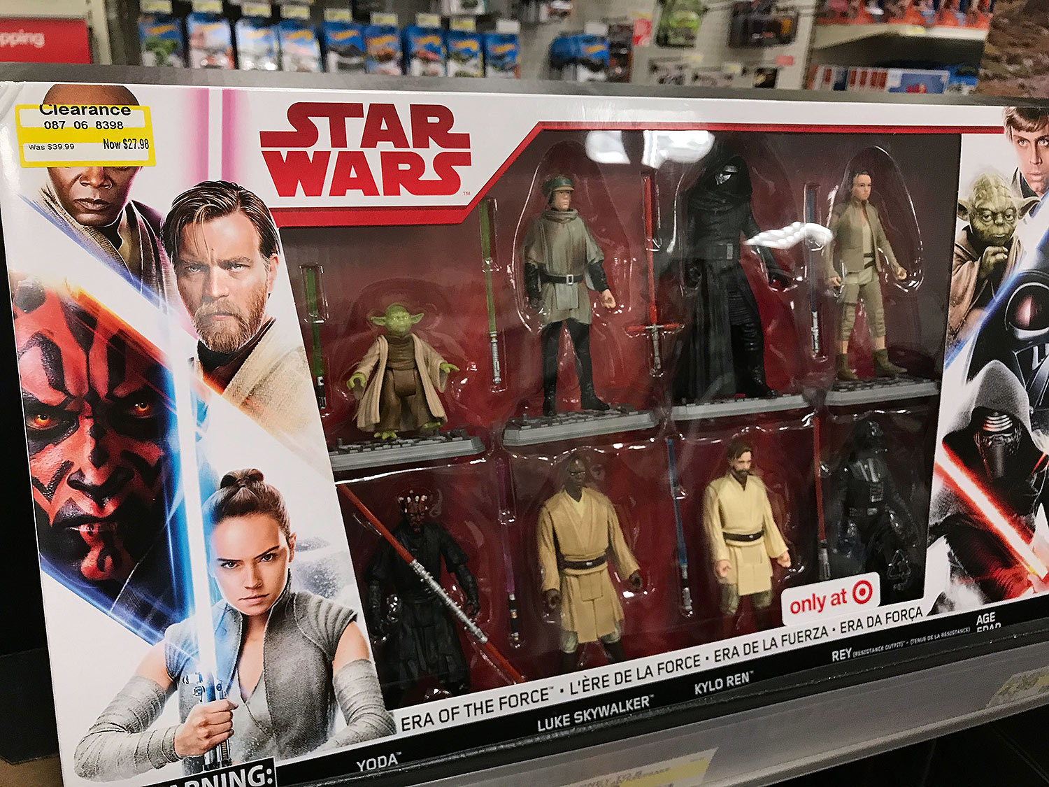 Target Star Wars Clearance