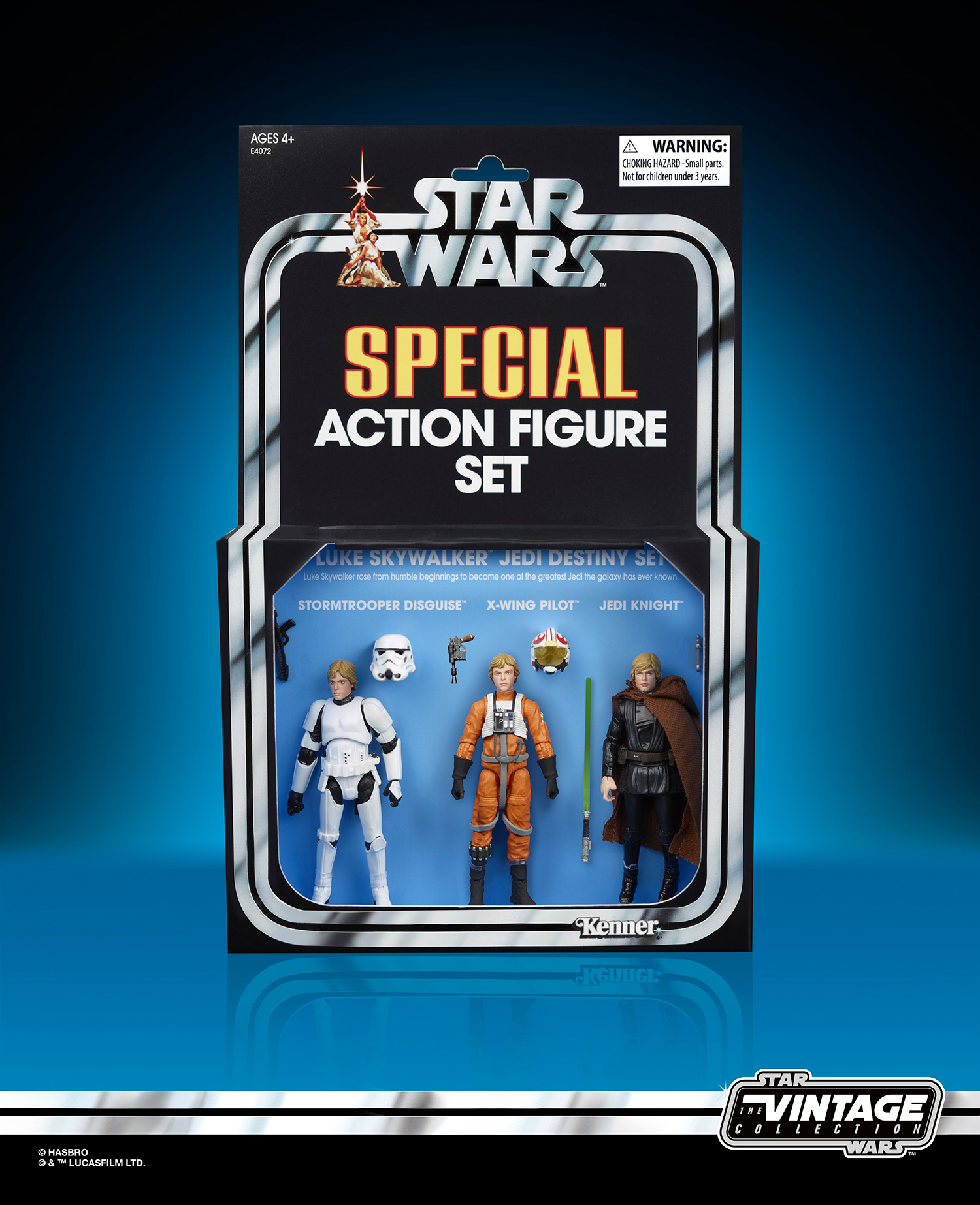 The Vintage Collection Luke Skywalker 3-pack