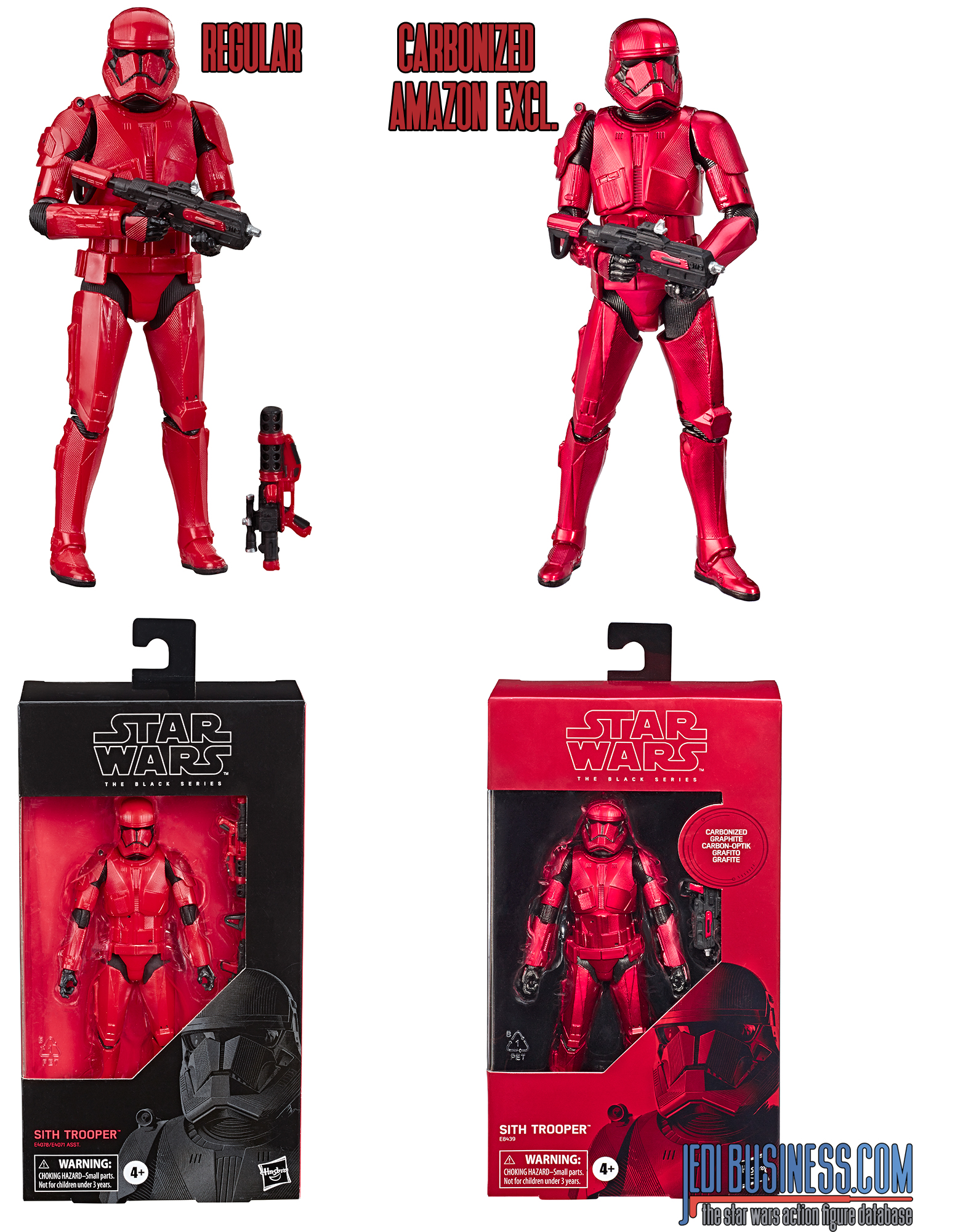Black Series  Sith Trooper carbonized