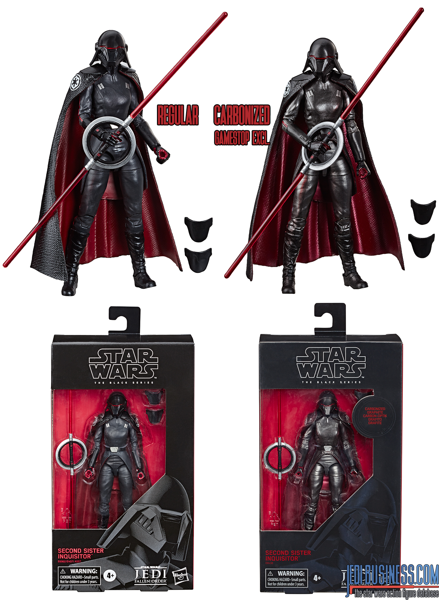 Black Series  Second Sister carbonized