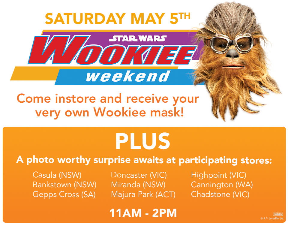 Wookiee Weekend