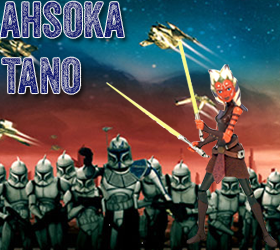 Star Wars Ahsoka Tano Action Figures