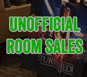 Star Wars Celebration Anaheim 2015 Room Sales