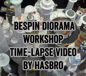 Star Wars Diorama Builder Hasbro Time Lapse Video