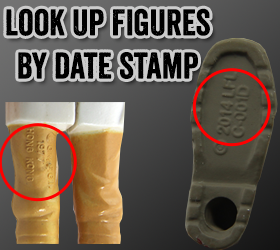 Look up Star Wars figures by date stamp